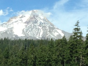 The majestic Mt. Hood
